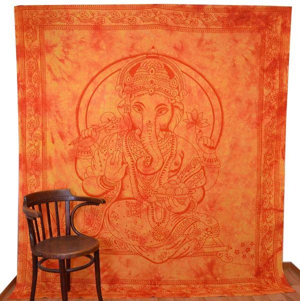Ganesha Batik Wandtuch