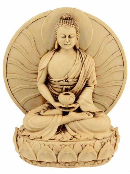 Amithaba Buddha mit Sonne