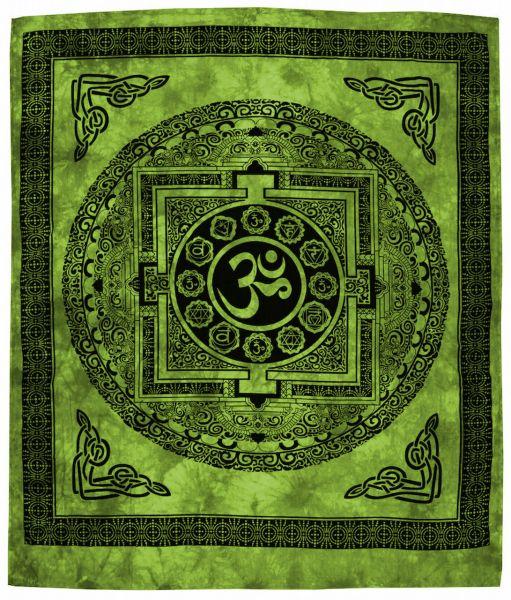 Om Yantra Wandtuch Wandtücher, Goa Tücher Wandbehang Deko