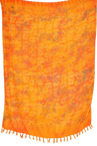 Sarong Batik Pareo Lunghi Orange
