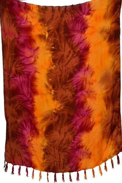 Batik Sarong Pareo Rost-Rot Toene