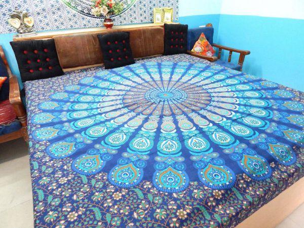 grosses wandtuch mandala tuch, indische Tücher
