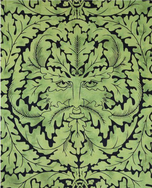 Keltische Tagesdecke - Der Grüne Mann